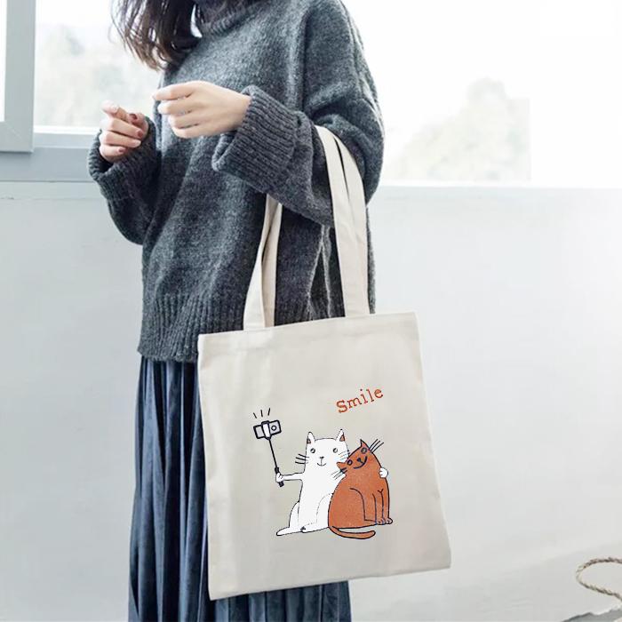 Vải bố canvas dùng làm túi xách thời trang